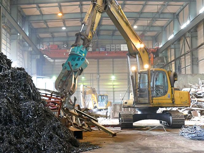 私たちの仕事 金属リサイクル 一般のお客様へ